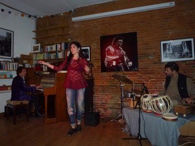 TRUN NAZIR DUO invite Julie LOBATO (Tap Dance)